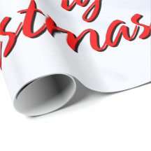 Merry Christmas 20 Wrapping Paper