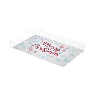 Merry Christmas 2 Acrylic Tray