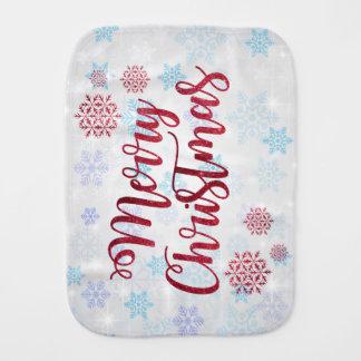 Merry Christmas 2 Burp Cloth