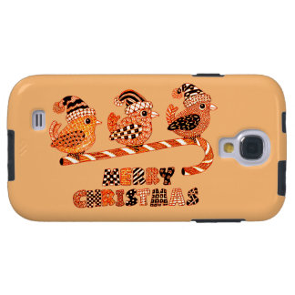 Merry Christmas 2 Galaxy S4 Case