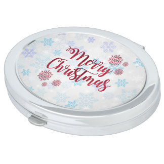 Merry Christmas 2 Vanity Mirrors