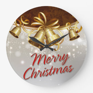 Merry Christmas 40 Wall Clock Options