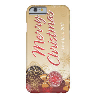 Merry Christmas 4 Case Barely There iPhone 6 Case