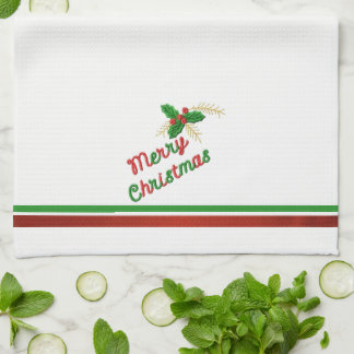 Merry Christmas 4 Tea Towel