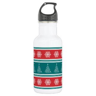 Merry Christmas 532 Ml Water Bottle