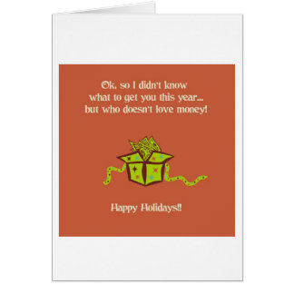 Merry Christmas 6531 Card