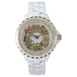 Merry Christmas 74C Watch & Numeral Options