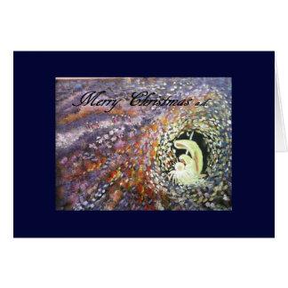 Merry Christmas Aglow 5x7 Card