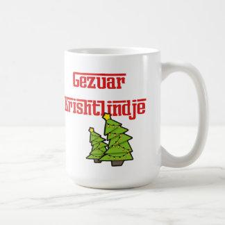 Merry Christmas (Albanian) Christmas Mug