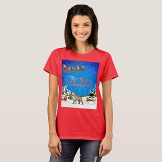 Merry Christmas American Pitbull Terrier T-Shirt