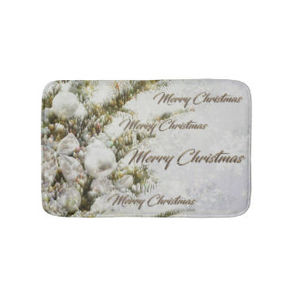 Merry Christmas and a Happy New Year Bath Mat