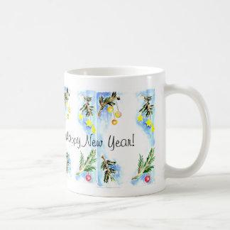 Merry Christmas and A Happy new Year! Coffee Mug