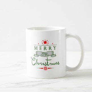 Merry Christmas and a Happy New Year Mugs