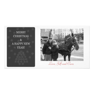 Merry Christmas and a Happy New Year Photo Card