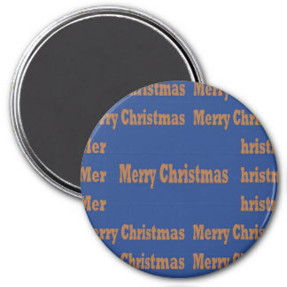 Merry Christmas and Happy Holidays TEMPLATE Magnet