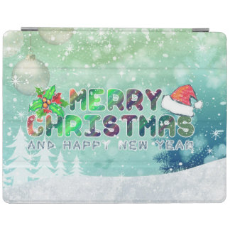 Merry Christmas and Happy New Year iPad 2/3/4 Cove iPad Cover