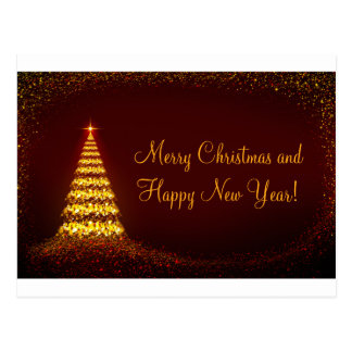 Merry Christmas and Happy new Year! Postcard