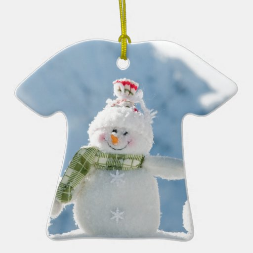 Merry Christmas and Happy New Year Snowmen Ornament