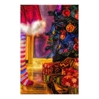 Merry Christmas and Happy new year Stationery