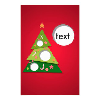 merry christmas and happy newyear stationery