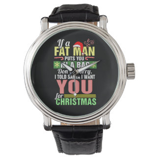 Merry Christmas and Santa Claus Watch