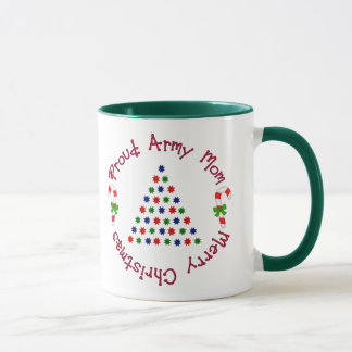 Merry Christmas (Army Mom) Mug