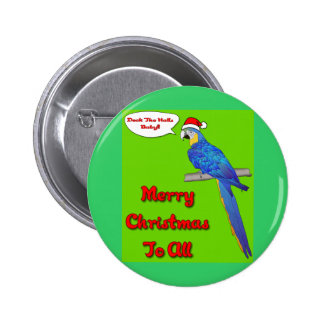 Merry Christmas Baby Pinback Button