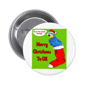 Merry Christmas Baby Button
