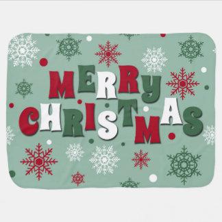 Merry Christmas Baby Blanket