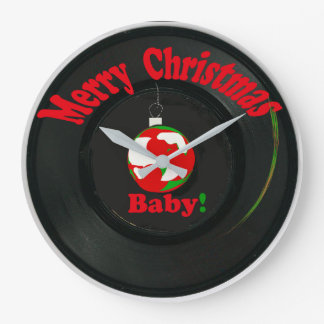 Merry Christmas Baby! Clock Record