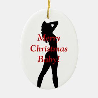 Merry Christmas Baby Christmas Ornaments
