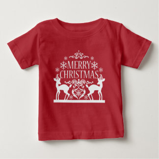 Merry Christmas Baby Fine Jersey Shirt