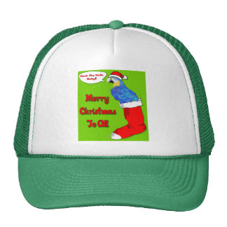Merry Christmas Baby Hat