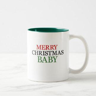 Merry Christmas Baby Mug
