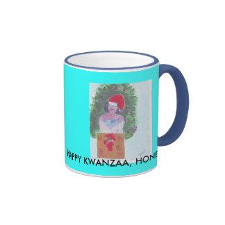 Merry  christmas baby ringer mug