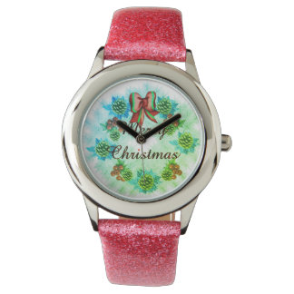 merry christmas background watch (kids)