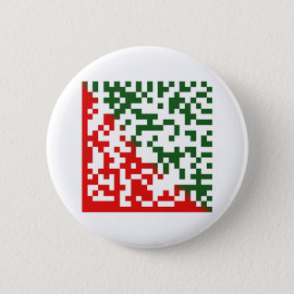 Merry Christmas Barcode 6 Cm Round Badge