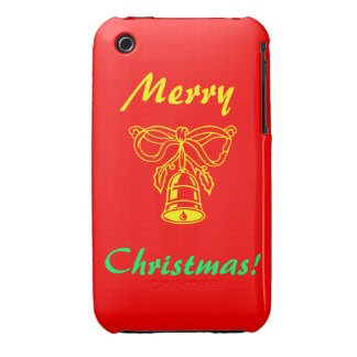 Merry Christmas (Bell) Case-Mate iPhone 3 Case