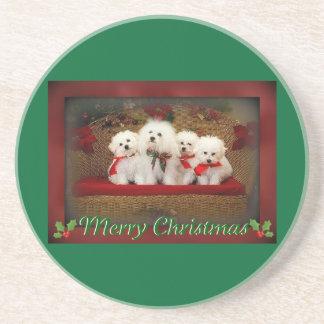 Merry Christmas Bellissimo Coaster