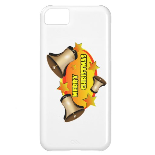 Merry Christmas Bells Cover For iPhone 5C