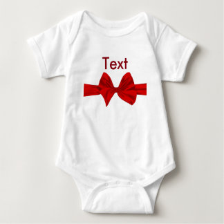 Merry Christmas Bow Baby Creepers T-shirts