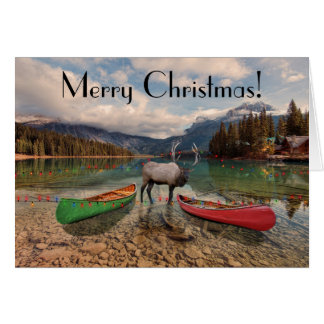 Merry Christmas - British Columbia greetings Card