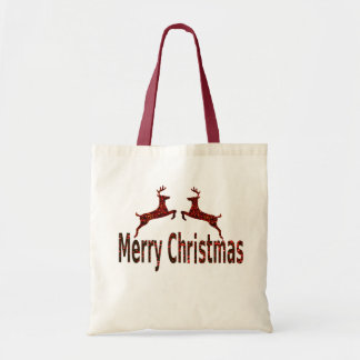 Merry Christmas Budget Tote Bag