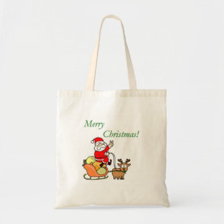 Merry Christmas - Budget Tote Bags