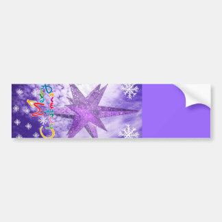 Merry Christmas_ Bumper Sticker