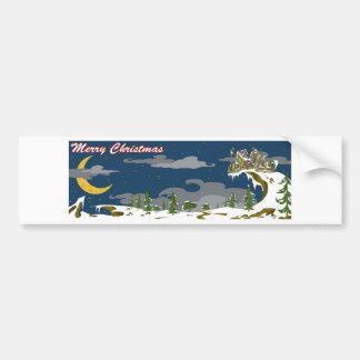 Merry Christmas Bumper Sticker
