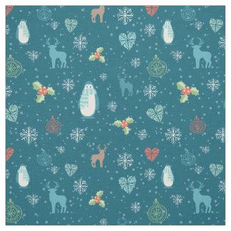 Merry Christmas bundles pattern - winter pattern Fabric