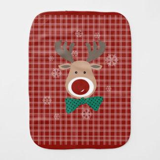 Merry Christmas! Burp Cloth