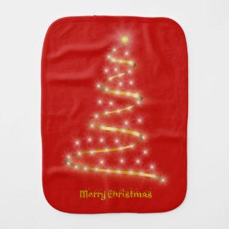 Merry Christmas Burp Cloth