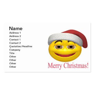 Merry Christmas Pack Of Standard Business Cards